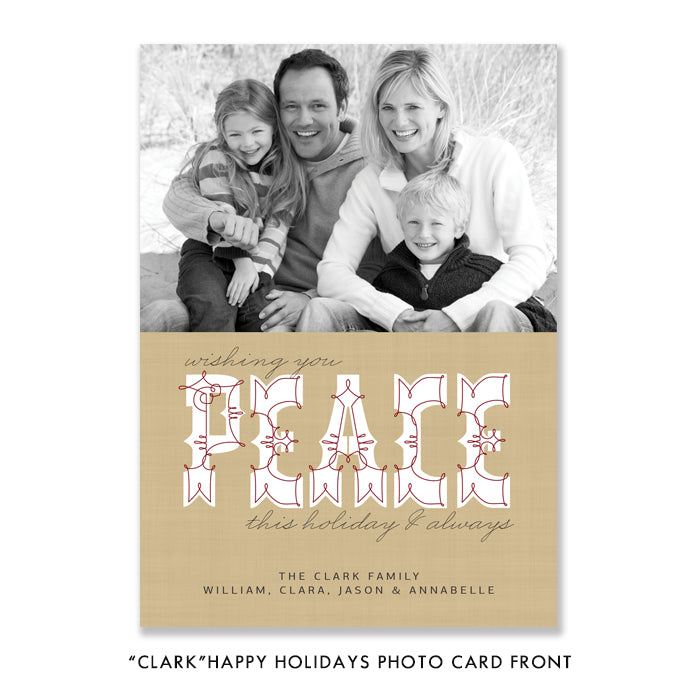 Holiday Baby Photo Cards