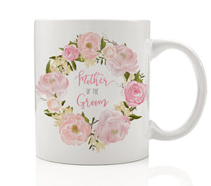Pink Peonies Mother of the Groom Mug