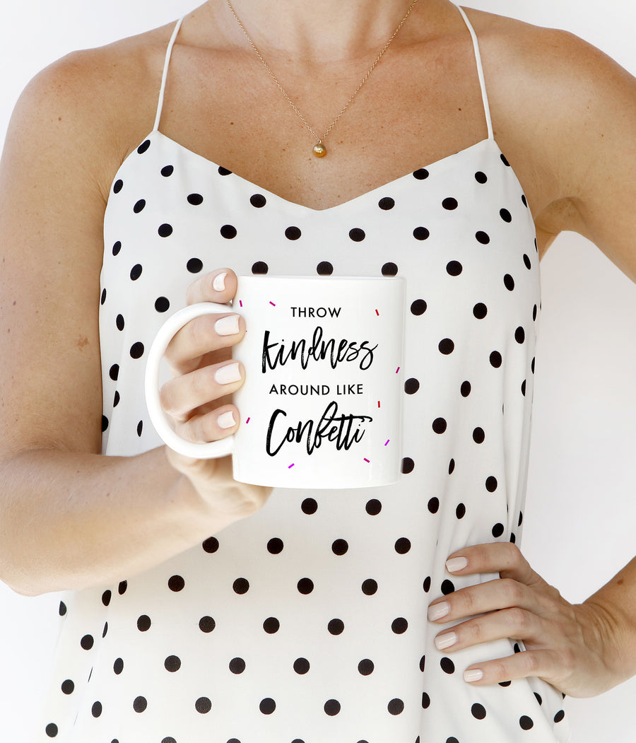 Throw Kindness Mug