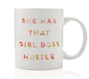 Girl Boss Hustle Mug