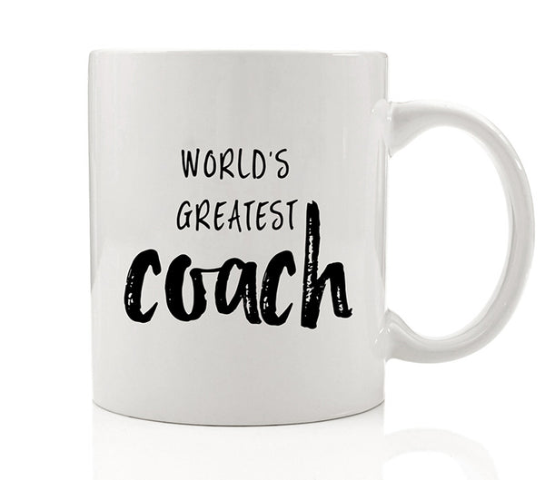 World's Greatest Coach Mug