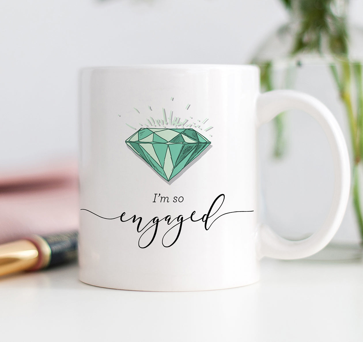 I'm So Engaged Mug