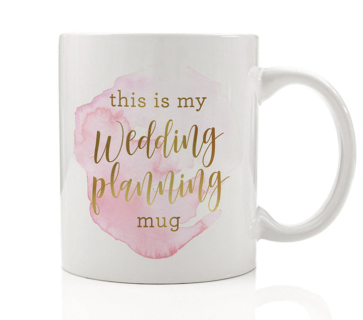 This Is My Wedding Planning Mug