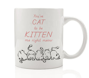 You've Cat To Be Kitten Me Right Now Mug