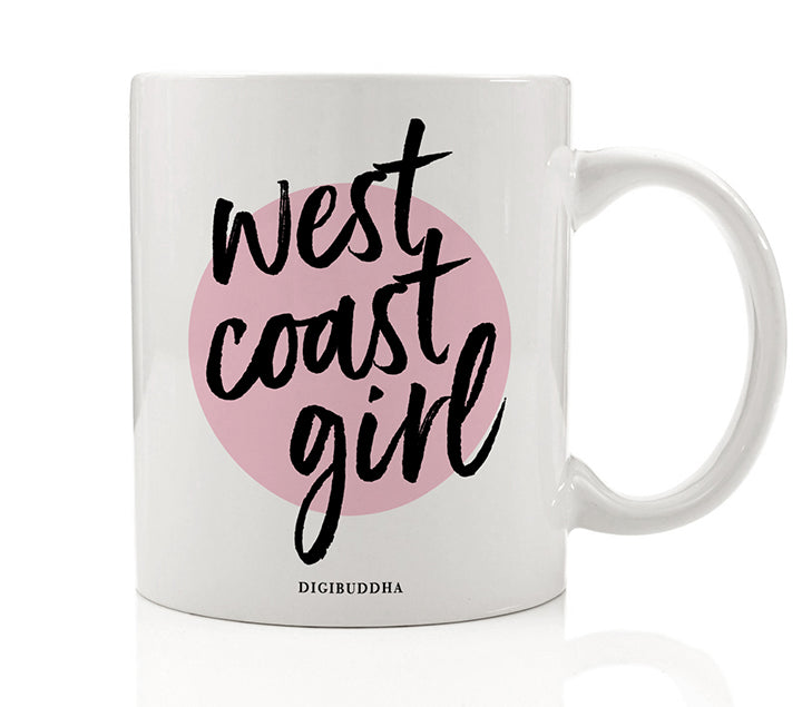 West Coast Girl Mug