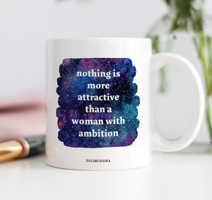 A Woman With Ambition Mug