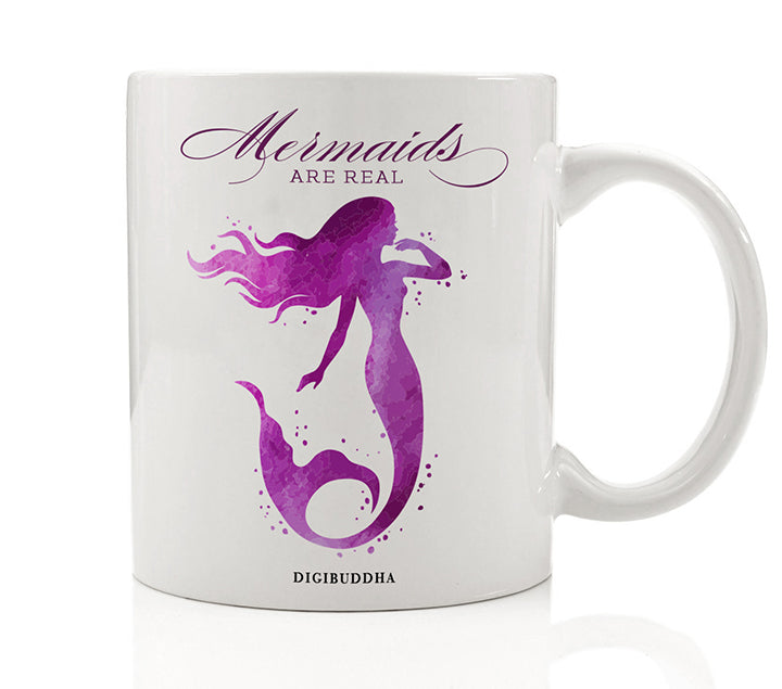 Mermaids Are Real Mug | Purple