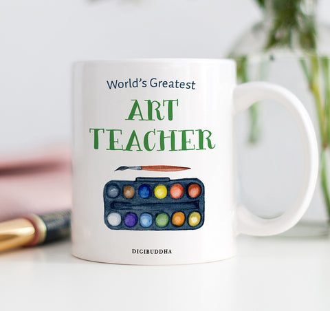 World's Greatest Art Teacher Mug