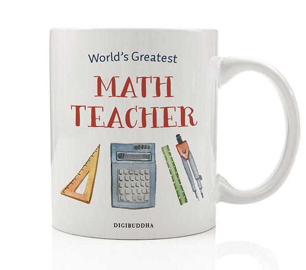 World's Greatest Math Teacher Mug