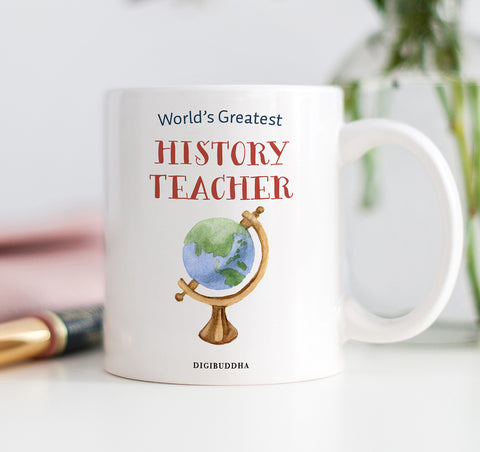 World's Greatest History Teacher Mug