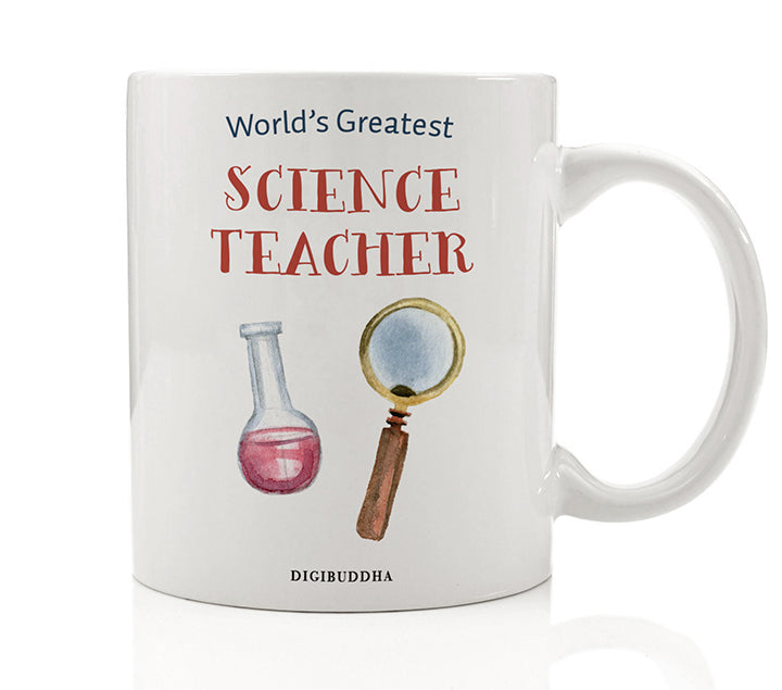 World's Greatest Science Teacher Mug