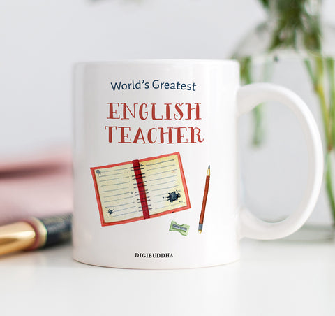 World's Greatest English Teacher Mug