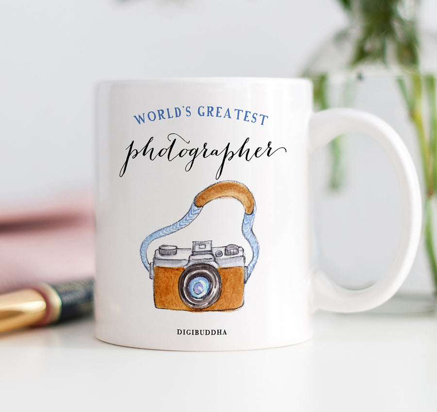 World's Greatest Photographer Mug
