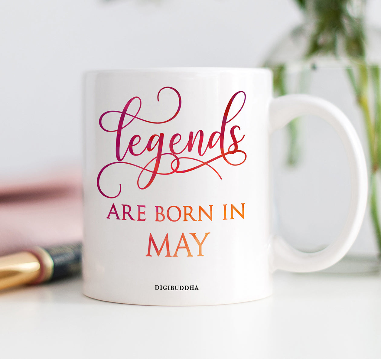 Legends Are Born In May Mug