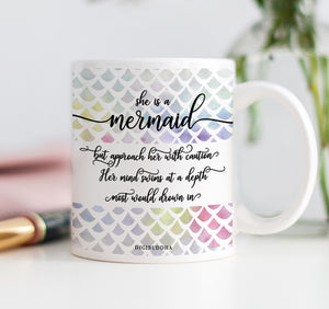 She Is A Mermaid Mug