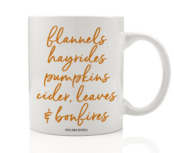 Everything Autumn Seasonal Mug