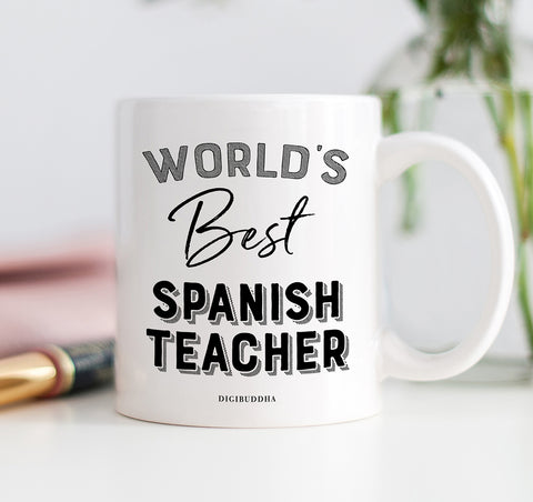 World's Best Spanish Teacher Mug