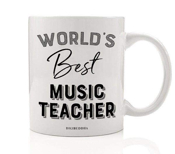 World's Best Music Teacher Mug