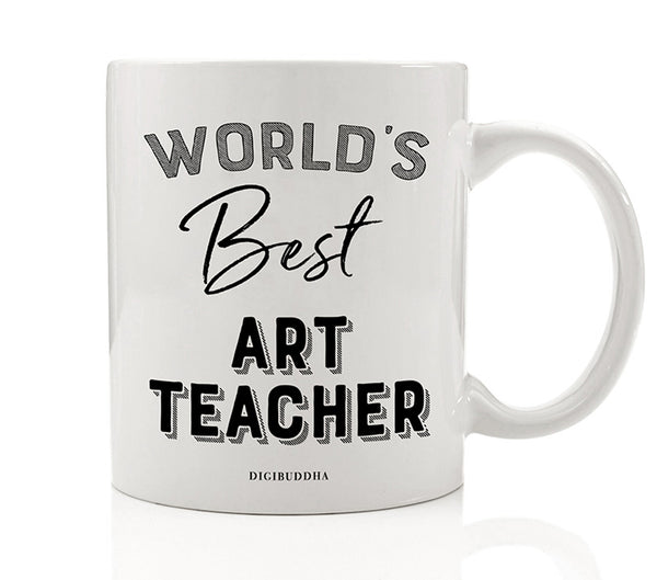 World's Best Art Teacher Mug