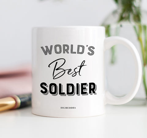 World's Best Soldier Mug