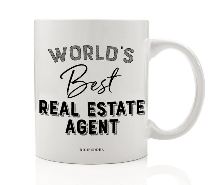 World's Best Real Estate Agent Mug