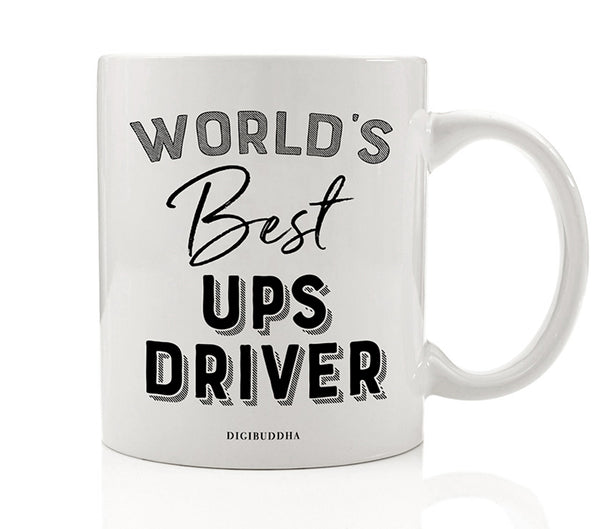 World's Best UPS Driver Mug