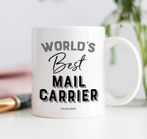 World's Best Mail Carrier Mug