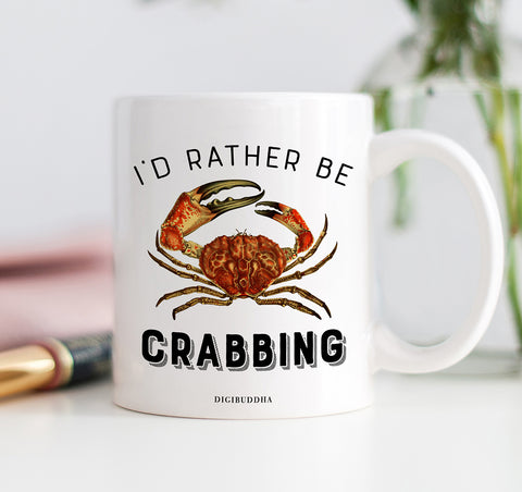 I'd Rather Be Crabbing Mug