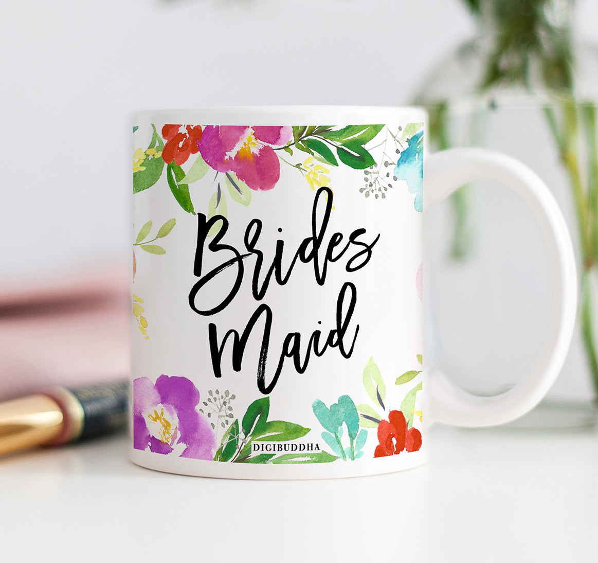 Floral Bridesmaid Mug