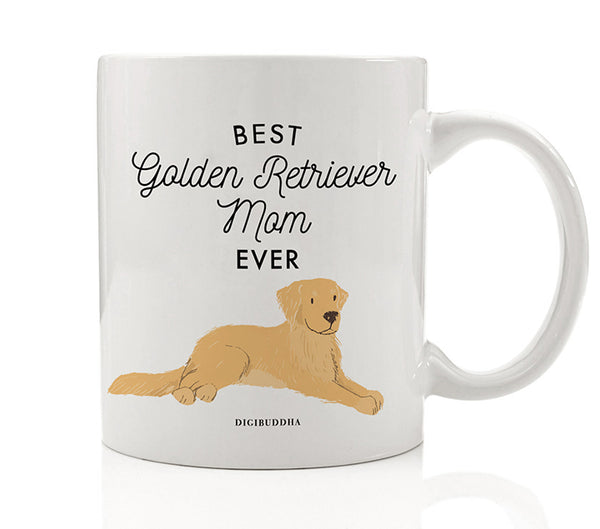 Best Golden Retriever Mom Ever Mug