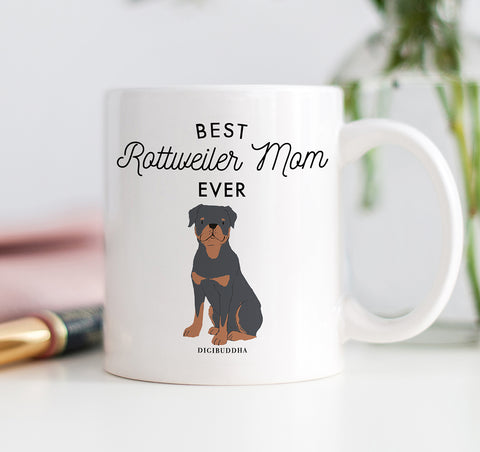 Best Rottweiler Mom Ever Mug