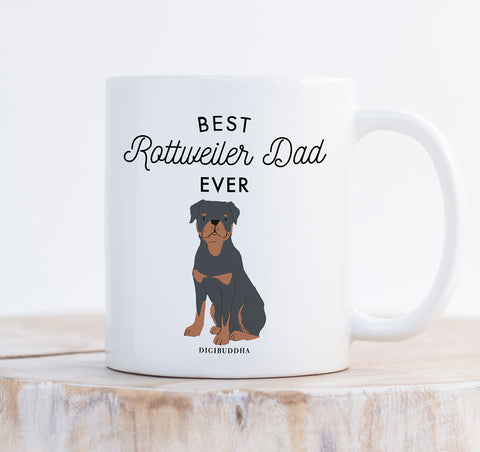Best Rottweiler Dad Ever Mug