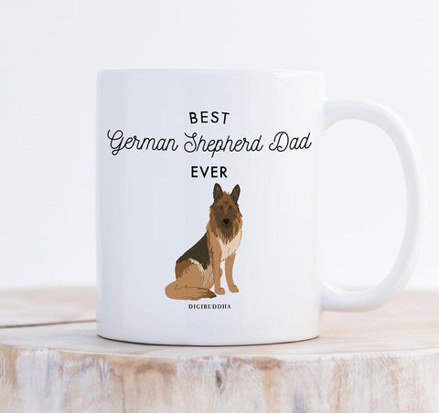 Best German Shepherd Dad Ever Mug