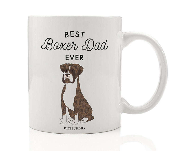 Best Boxer Dad Ever Mug