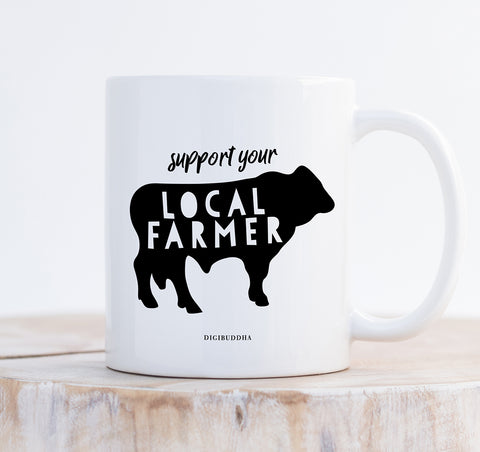 Support Your Local Farmer Mug