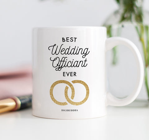 Best Wedding Officiant Ever Mug
