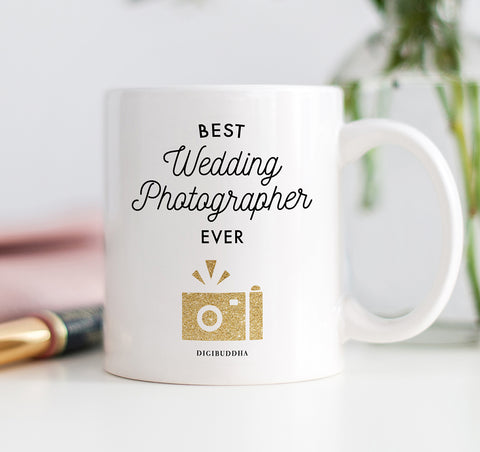 Best Wedding Photographer Ever Mug
