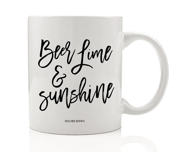 Beer Lime & Sunshine Mug