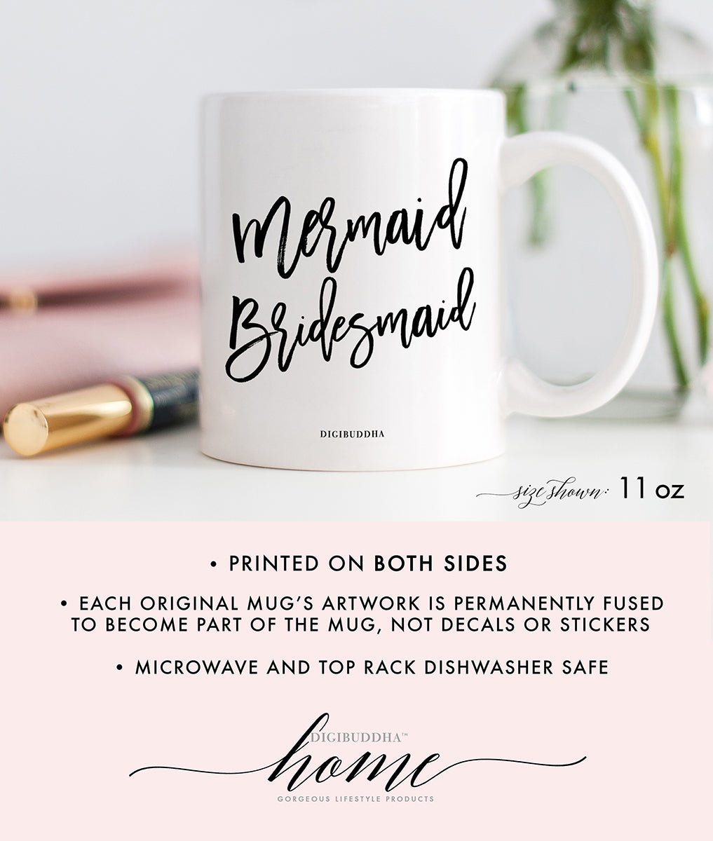 Mermaid Bridesmaid Mug