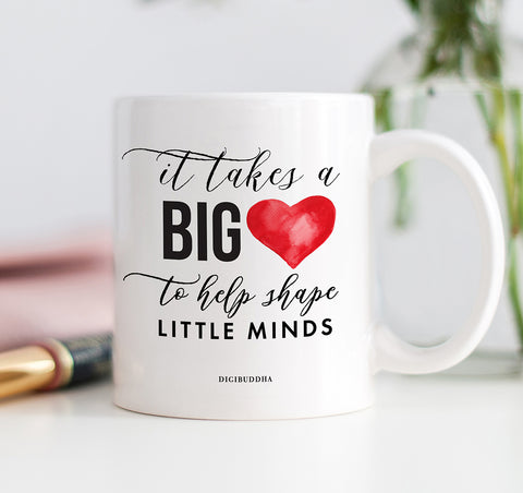 It Takes A Big Heart Mug