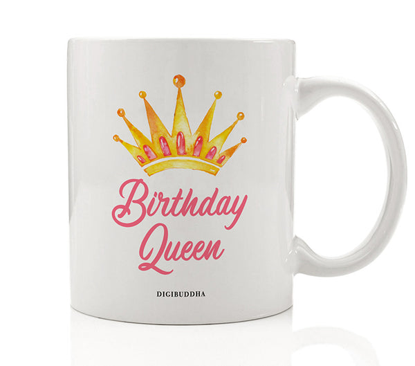 Birthday Queen Mug