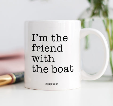 Friend With The Boat Mug