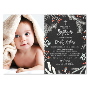 Baptism Photo Card