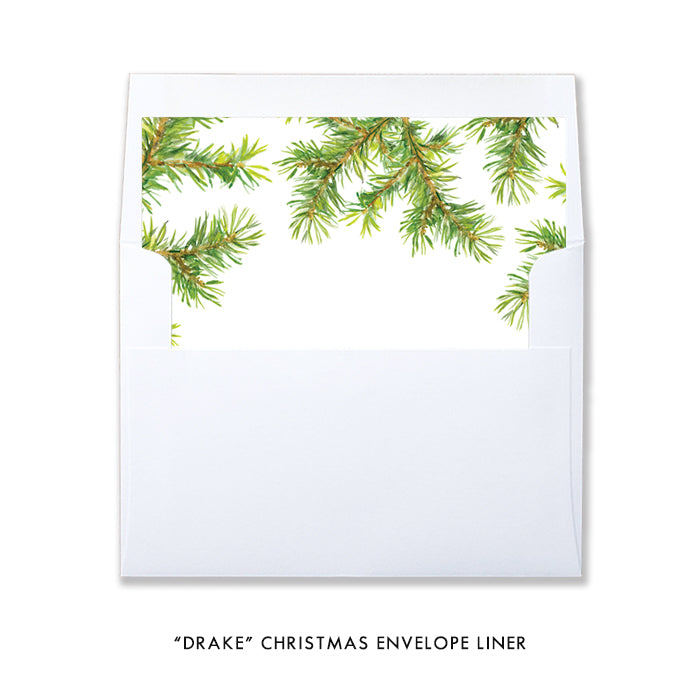 Peace Branches Photo Holiday Card | Drake