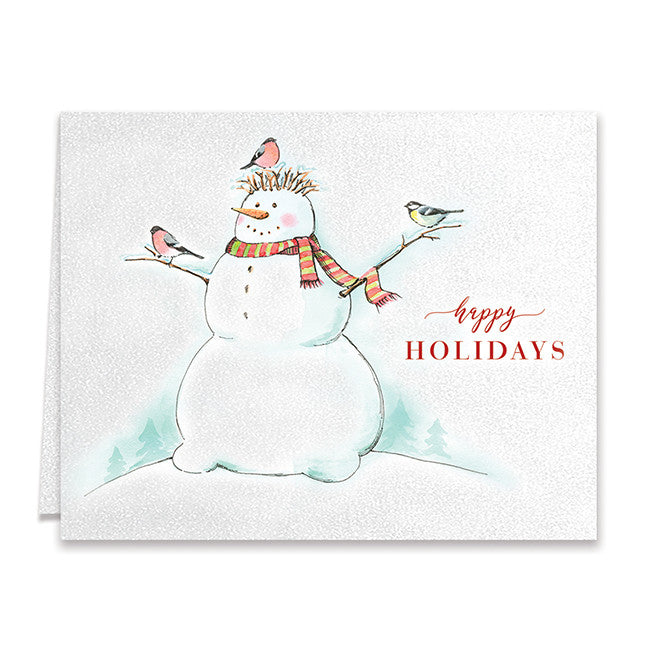 Snowman Boxed Holiday Cards | Ember