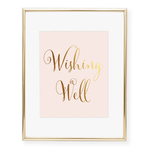 Wishing Well Foil Art Print
