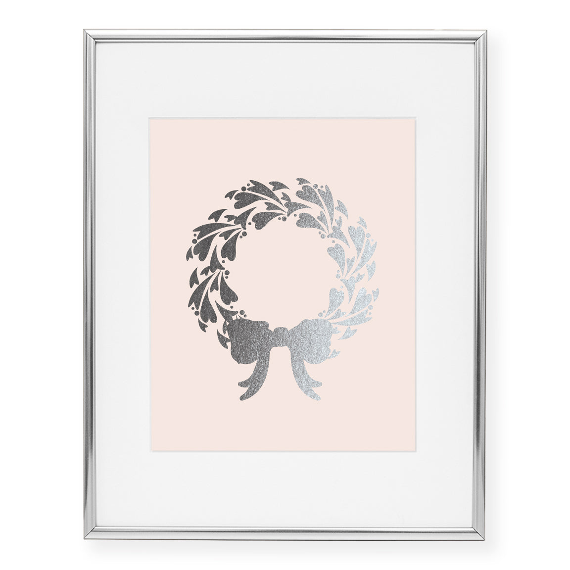 Wreath Foil Art Print