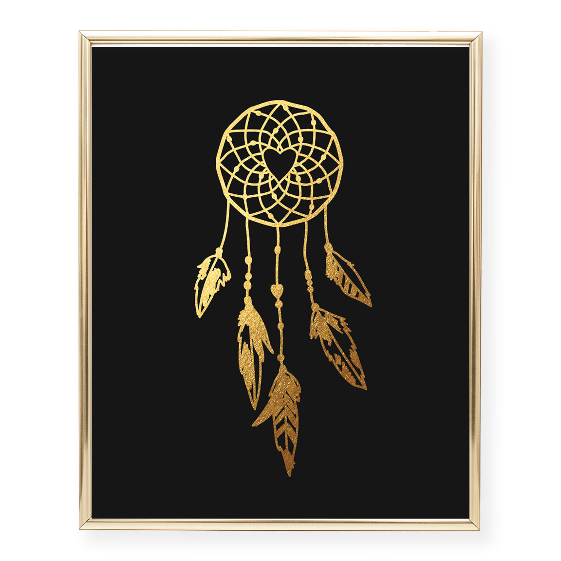 Dreamcatcher Foil Art Print