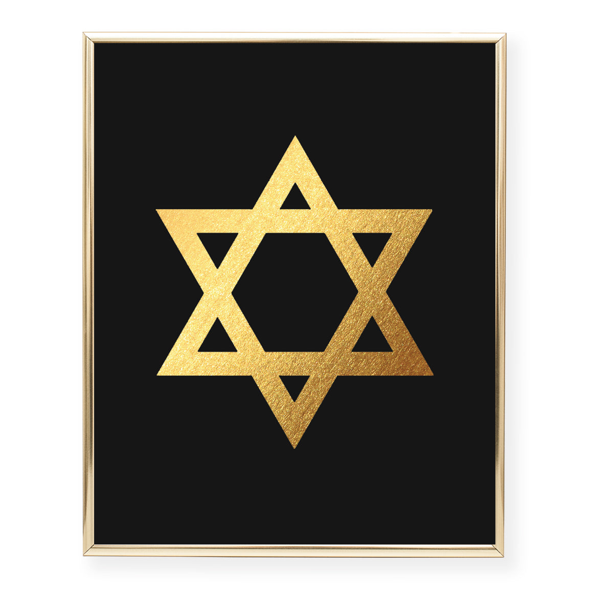 Star of David Foil Art Print