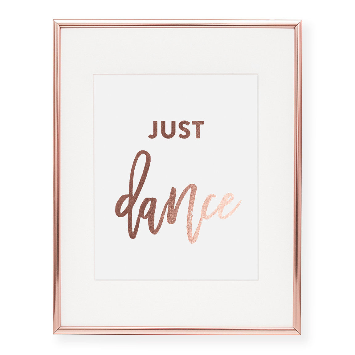 Just Dance Foil Art Print